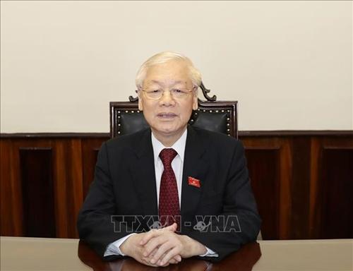 Tổng Bí thư, Chủ tịch nước Nguyễn Phú Trọng kêu gọi đoàn kết, cùng nỗ lực để chiến thắng đại dịch