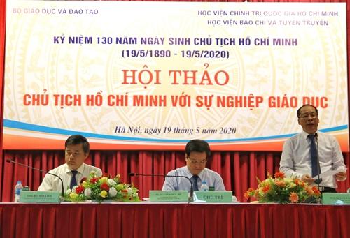 """Hội thảo """"Chủ tịch Hồ Chí Minh với sự nghiệp giáo dục"""""""