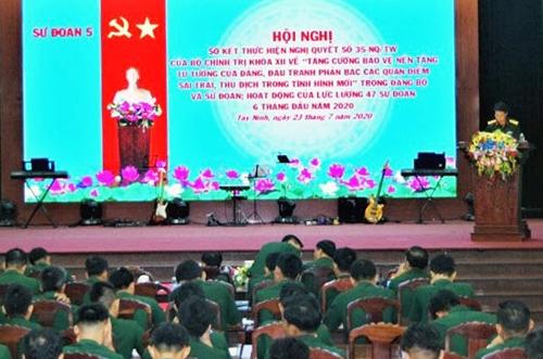 Tăng cường bảo vệ nền tảng tư tưởng của Đảng, đấu tranh phản bác các quan điểm sai trái, thù địch