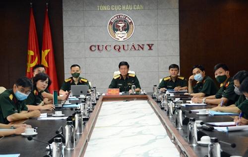 Khai mạc hội thảo trực tuyến quân y các nước ASEAN về quản lý khu cách ly trong phòng, chống Covid-19