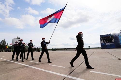 Campuchia gây bất ngờ tại Army Games 2020
