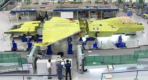 Hàn Quốc: Máy bay KF-X đầu tiên đang được lắp ráp