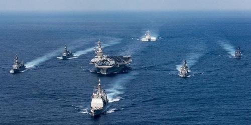Mỹ: Lầu Năm Góc công bố kế hoạch mở rộng hải quân