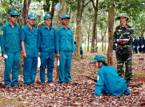 LLVT tỉnh Đắc Lắc: Bám sát địa bàn, thực hiện tốt nhiệm vụ quân sự, quốc phòng