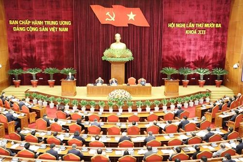 Dự thảo Báo cáo tổng kết công tác xây dựng Đảng và thi hành Điều lệ Đảng nhiệm kỳ Đại hội XII