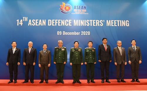 Khai mạc Hội nghị Bộ trưởng Quốc phòng các nước ASEAN lần thứ 14