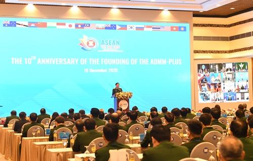 Lễ kỷ niệm 10 năm thành lập Hội nghị Bộ trưởng Quốc phòng các nước ASEAN mở rộng