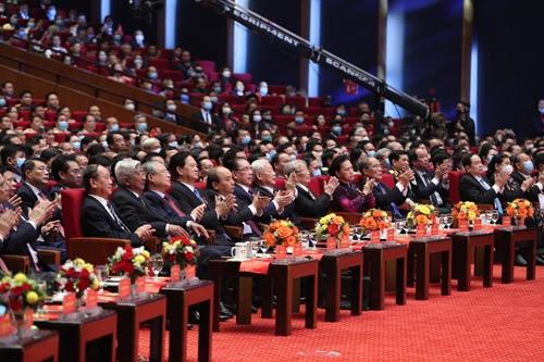 Khai mạc trọng thể Đại hội Thi đua yêu nước toàn quốc lần thứ X