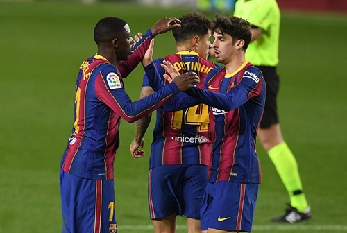 Vòng 16 La Liga: Barca chật vật cầm hòa Eibar