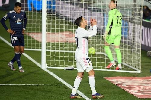 Vòng 17 La Liga: Real Madrid thắng dễ dàng Celta Vigo