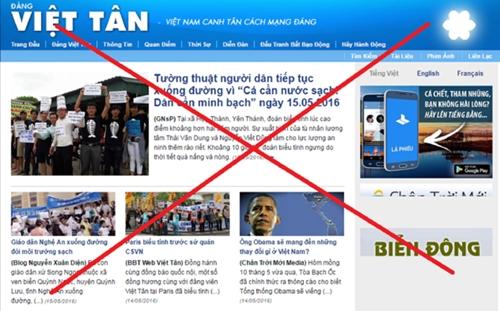 Bài 2: Những chiêu trò mới của Việt Tân