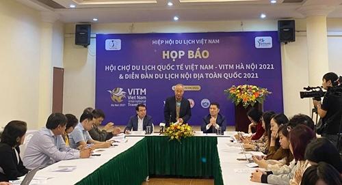 Hơn 450 doanh nghiệp tham dự Hội chợ Du lịch quốc tế Việt Nam 2021