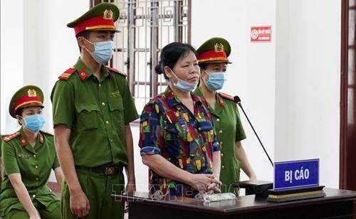 Cấn Thị Thêu và Trịnh Bá Tư bị tuyên phạt 16 năm tù về tội chống Nhà nước