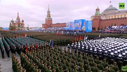 Liên bang Nga duyệt binh kỷ niệm lần thứ 76 chiến thắng trong Chiến tranh Vệ quốc vĩ đại
