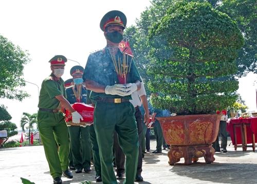 Tỉnh Đắk Nông tổ chức lễ truy điệu và an táng 9 hài cốt liệt sĩ