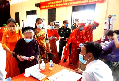 Truyền cảm hứng, yếu tố thiết thực trong ngày hội non sông ở Việt Hưng