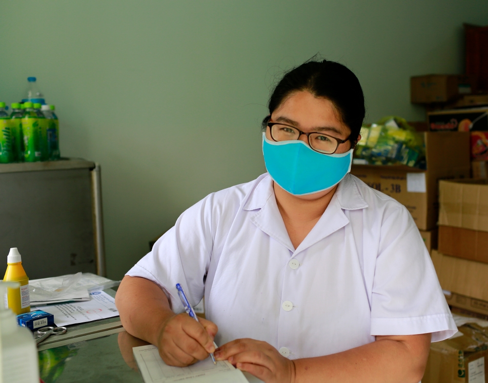 Làm việc và làm việc là thể hiện sự quyết tâm trong phòng chống dịch Covid-19