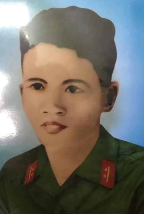 Đồng chí Đặng Đình Lùng, hy sinh ngày 24-2-1968 tại mặt trận phía Nam