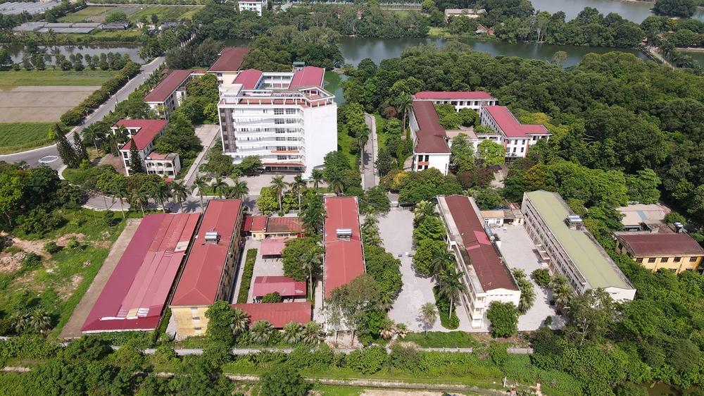 Trường Đại học Nông lâm Bắc Giang-nơi đang cách ly hơn 800 công dân là F1 trên địa bàn huyện Việt Yên.