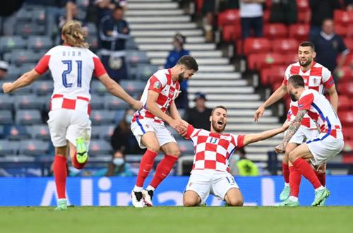 Croatia 3-1 Scotland: Bản lĩnh của đương kim Á quân thế giới thức tỉnh