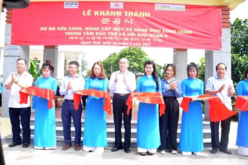 Nâng cấp cơ sở vật chất phục vụ chữa bệnh, phục hồi chức năng cho nạn nhân chất độc da cam