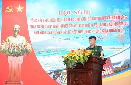 Tổng kết thực hiện một số nghị quyết của Bộ Chính trị và Quân ủy Trung ương