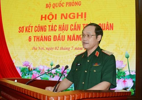 Bộ Quốc phòng tổ chức hội nghị trực tuyến sơ kết công tác hậu cần toàn quân