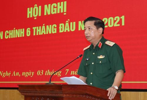 Quân khu 4 tổ chức Hội nghị Quân chính 6 tháng đầu năm 2021