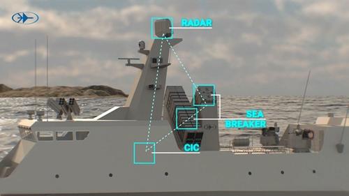 Tên lửa đa năng Sea Breaker: Vũ khí diệt hạm thế hệ mới của Israel