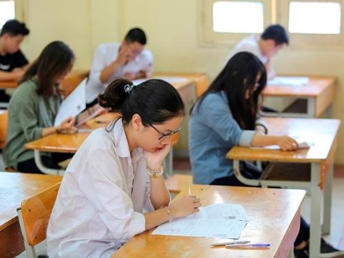 Hà Nội: Không có thí sinh vi phạm quy chế ở môn thi toán