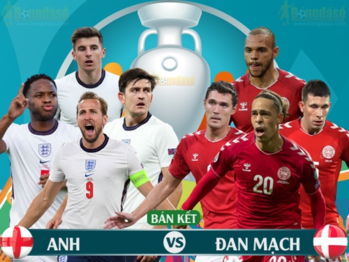 Đánh bại Đan Mạch, Đội tuyển Anh lần đầu tiên chơi trận chung kết Euro
