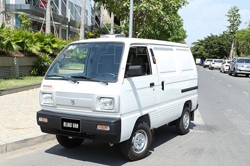 Suzuki Blind Van chiếc xe tải van cỡ nhỏ đáng tiền cho nội đô