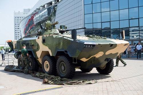 Xe bọc thép Volat V2: Phương tiện chiến đấu thế hệ mới của quân đội Belarus