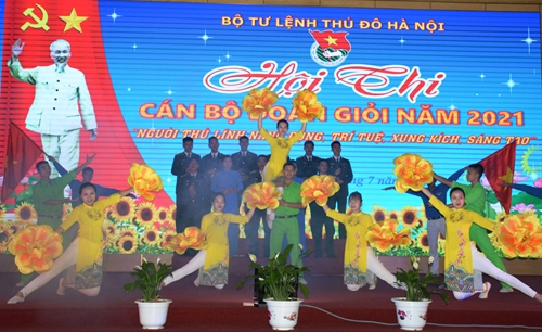 Bộ tư lệnh Thủ đô Hà Nội tổ chức Hội thi Cán bộ đoàn giỏi năm 2021