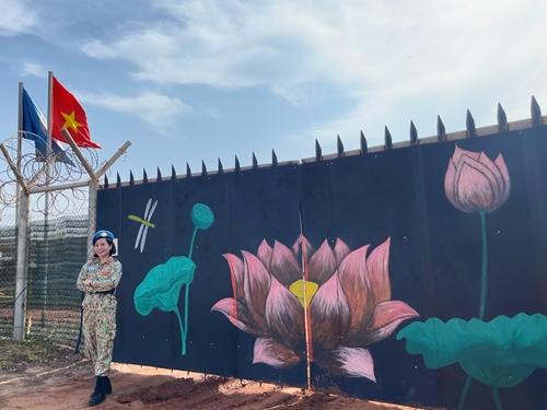 """""""Sen Việt"""" trên đất Bentiu, Nam Sudan"""