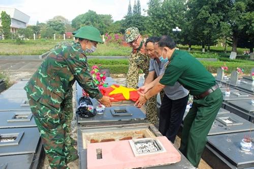 Đồng chí Nguyễn Văn Vần hy sinh tại Phước Long (Bình Phước)