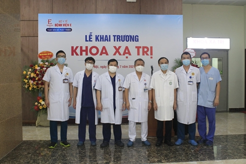 Bệnh viện E đưa hệ thống xạ trị hiện đại vào hoạt động