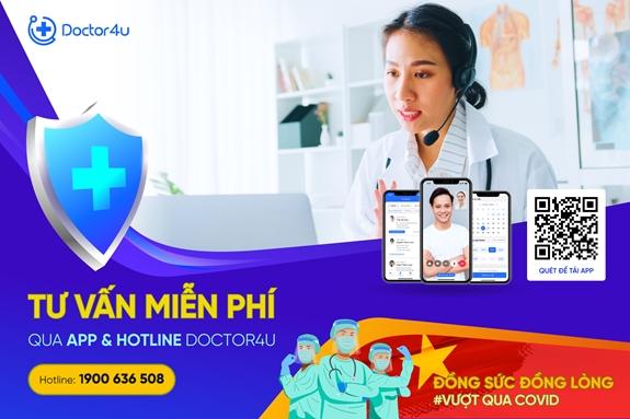 Bác sĩ Hà Nội tư vấn trực tuyến miễn phí cho nhân dân vùng dịch phía Nam