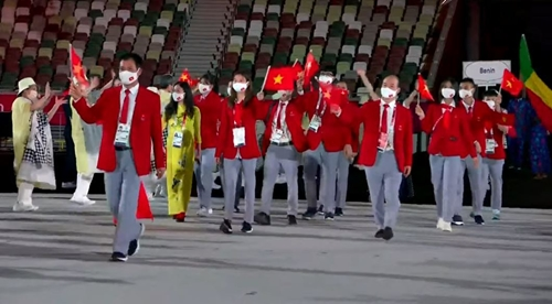 Olympic Tokyo 2020 chính thức khai mạc tại Nhật Bản