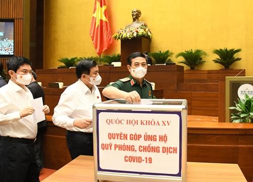 Thông cáo báo chí số 05 kỳ họp thứ nhất, Quốc hội khóa XV