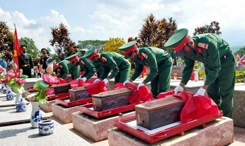 Đồng chí Phạm Ngọc Tuyên khi hy sinh ở Trung đoàn 2, Sư đoàn 9, Quân đoàn 4