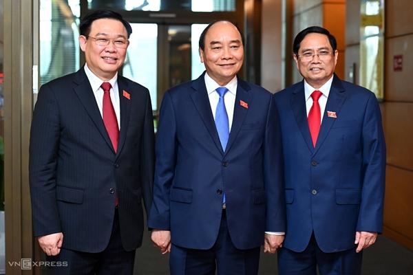 Lãnh đạo các nước gửi điện mừng lãnh đạo nước ta