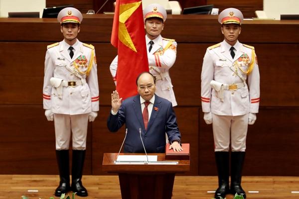 Chủ tịch nước Nguyễn Xuân Phúc nhậm chức Chủ tịch nước nhiệm kỳ 2021-2026