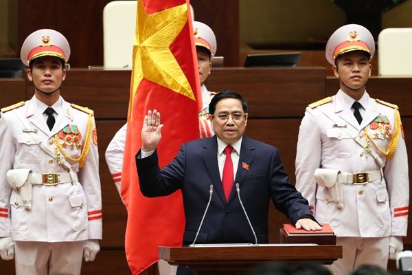 Đồng chí Phạm Minh Chính được Quốc hội bầu giữ chức Thủ tướng Chính phủ nhiệm kỳ 2021-2026