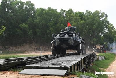 Đội tuyển Công binh Việt Nam quyết tâm đổi màu huy chương