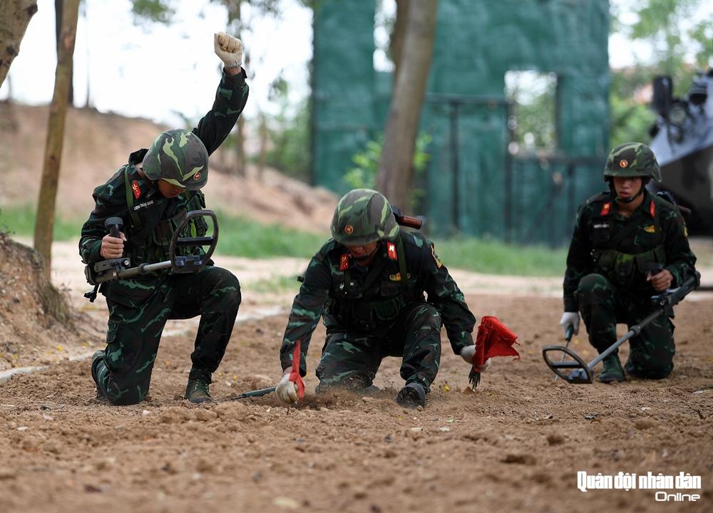 Tại Army Games 2020, Đội tuyển Công binh Việt Nam đoạt giải