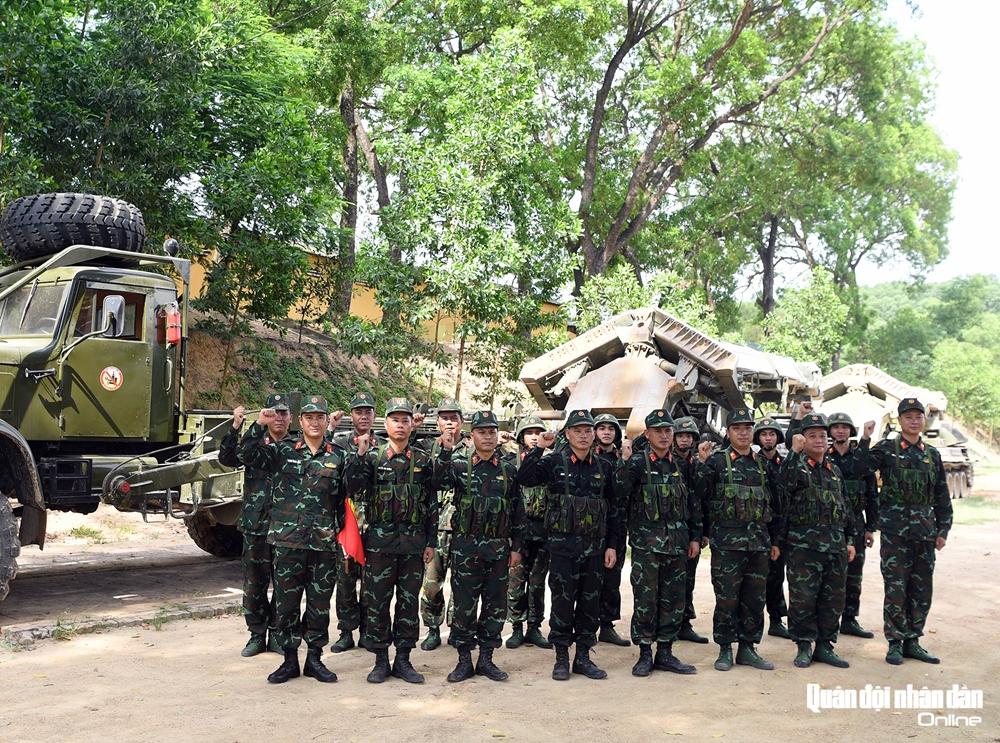 Với sự chuẩn bị kỹ càng về tâm lý và kỹ thuật, Đội tuyển Công binh QĐND Việt Nam quyết tâm đổi màu huy chương tại Army Games 2021.