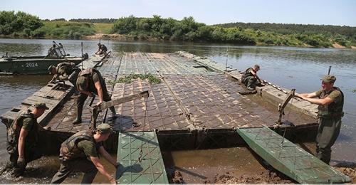 Công binh Belarus luyện tập chuẩn bị tham gia Army Games 2021