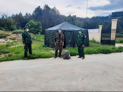 Bộ đội Biên phòng Kon Tum bắt đối tượng vượt biên trái phép