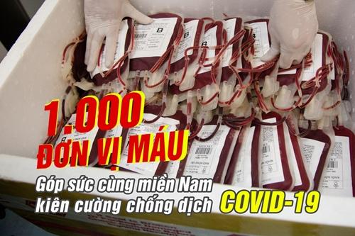 1.000 đơn vị máu
